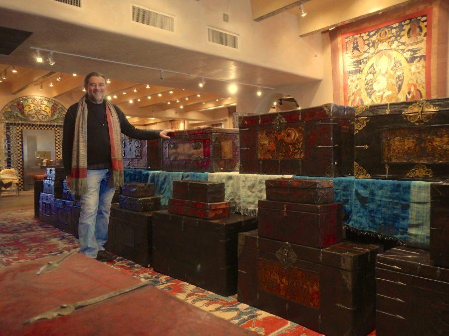 Ira Seret - Tibetan Leather Boxes