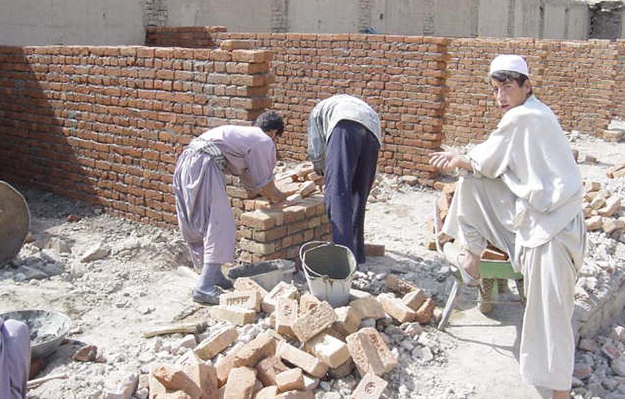 Rebuilding Istalif