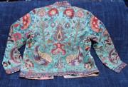 Short Suzani Jacket back