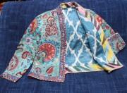Short Suzani Jacket open