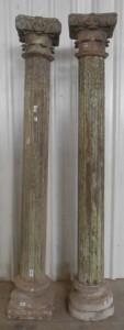 Various Wood Column 001