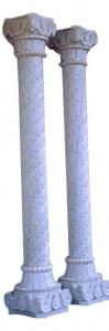 White Marble Column 14-1